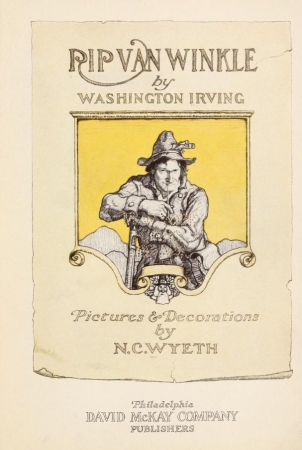 significant factors observed in rip van winkle by washington irving